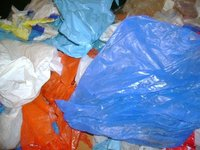 LDPE Coloured Film Waste In Bales