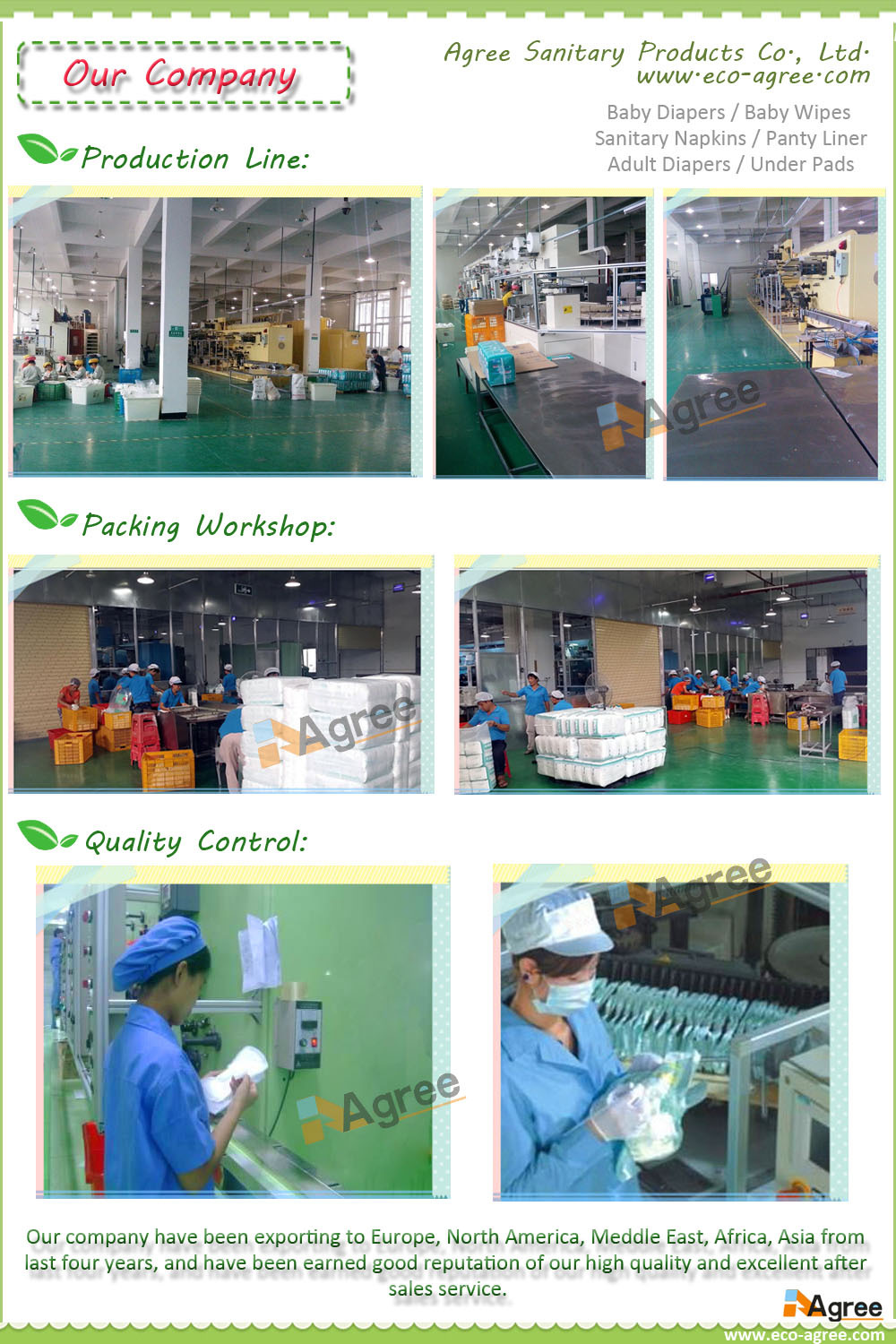 Export Intimate Care Adult Diaper Made From Importing Raw Material ...