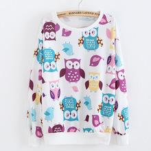 Bird Banana Cat Print Cute Thin Cotton Hoodies For Women Sport Suit Active Autumn Winter Pullovers Sweatshirts Women's Tracksuit