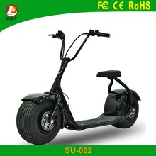 China factory wholesale 2 big wheels 1000 watt electric harley scooter for sale