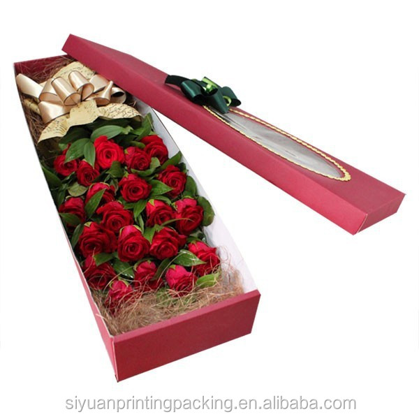 New new arrival fresh rose packaging box