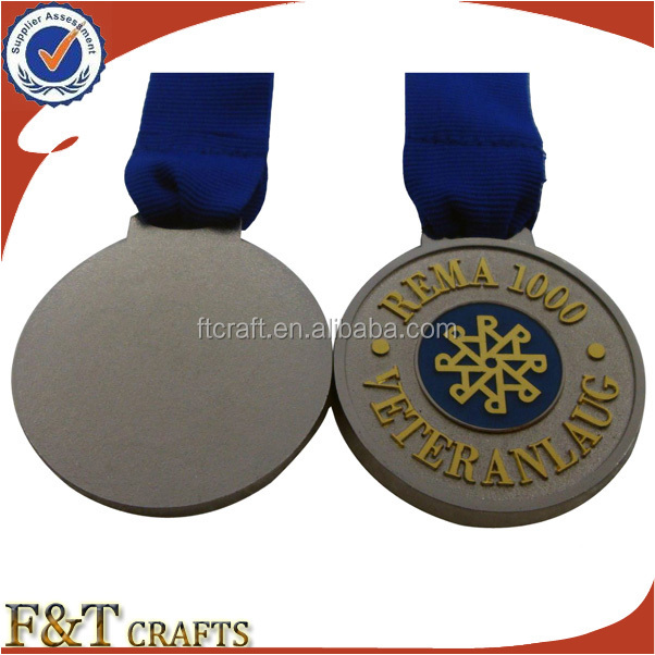 Custom Quality Sublimation Zinc Alloy Metal Hanging Medal With ...
