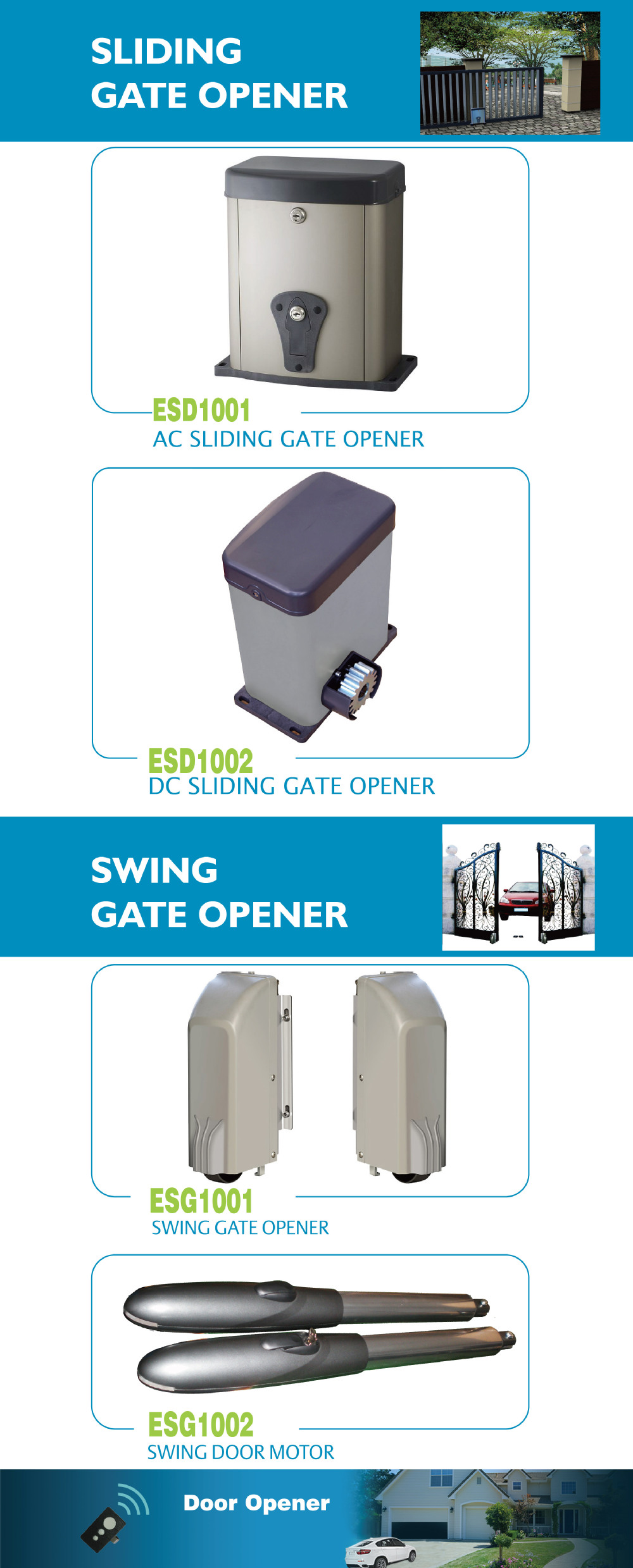 Kg electric automatic sliding gate