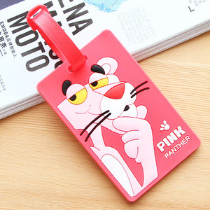 Business gift Custom Size Soft PVC Plastic ID Card Luggage Tag