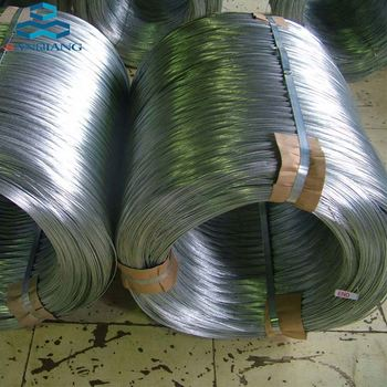 china supply black annealed galvanized / copper coated iron wire