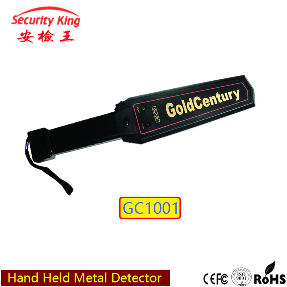 Super Scanner Hand Held Metal Gold Detector In Alarm