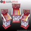 corrugated cardboard display shelf paper display stands for promotion merchandise