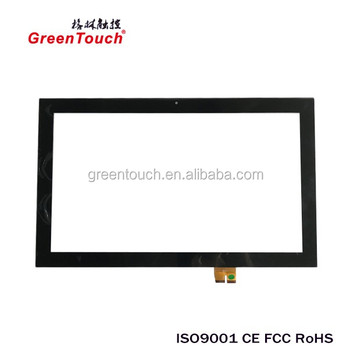 "21.5"" Capacitive touch screen glass for Union POS machine"