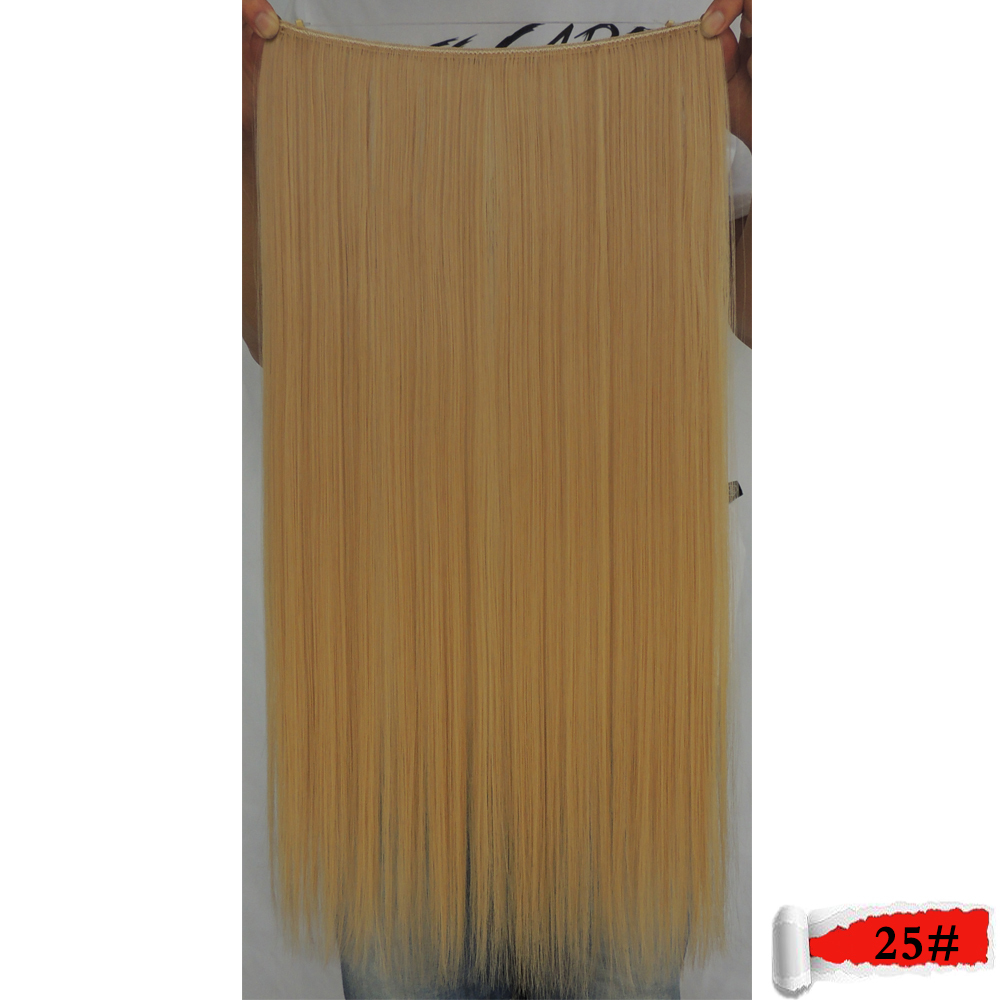 flip in hair extension 23 inch 80g flaxen color 25 straight synthetic for the false cheveux haar extensions cabelo extensiones