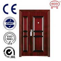 High Quality Stainless Steel Double Door American Steel Door