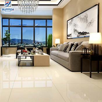Sunnda First Choice Kajaria Discontinued New Model 600x600mm Beige Shinny Polished Porcelain Turkish Vitrified Floor Tile