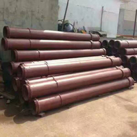 Manufacturer Pile Tremie Pipe Concrete Pump Pipe Construction Engineering Tremie Pipes