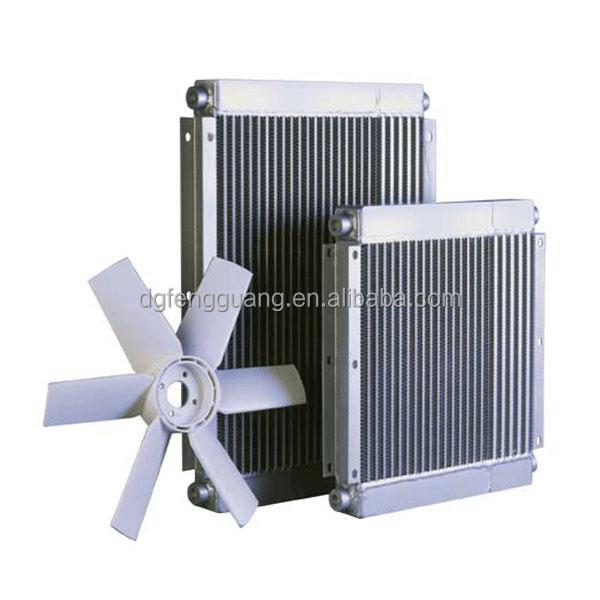 Air Compressor Cooler : Screw air compressor oil cooler radiator fan
