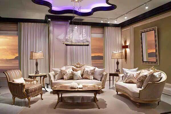 Ks48- Luxury Classic French Style Living Room Set /european ...