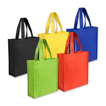 Cheap custom printing promotional wholesale recycle printable non woven tote bag