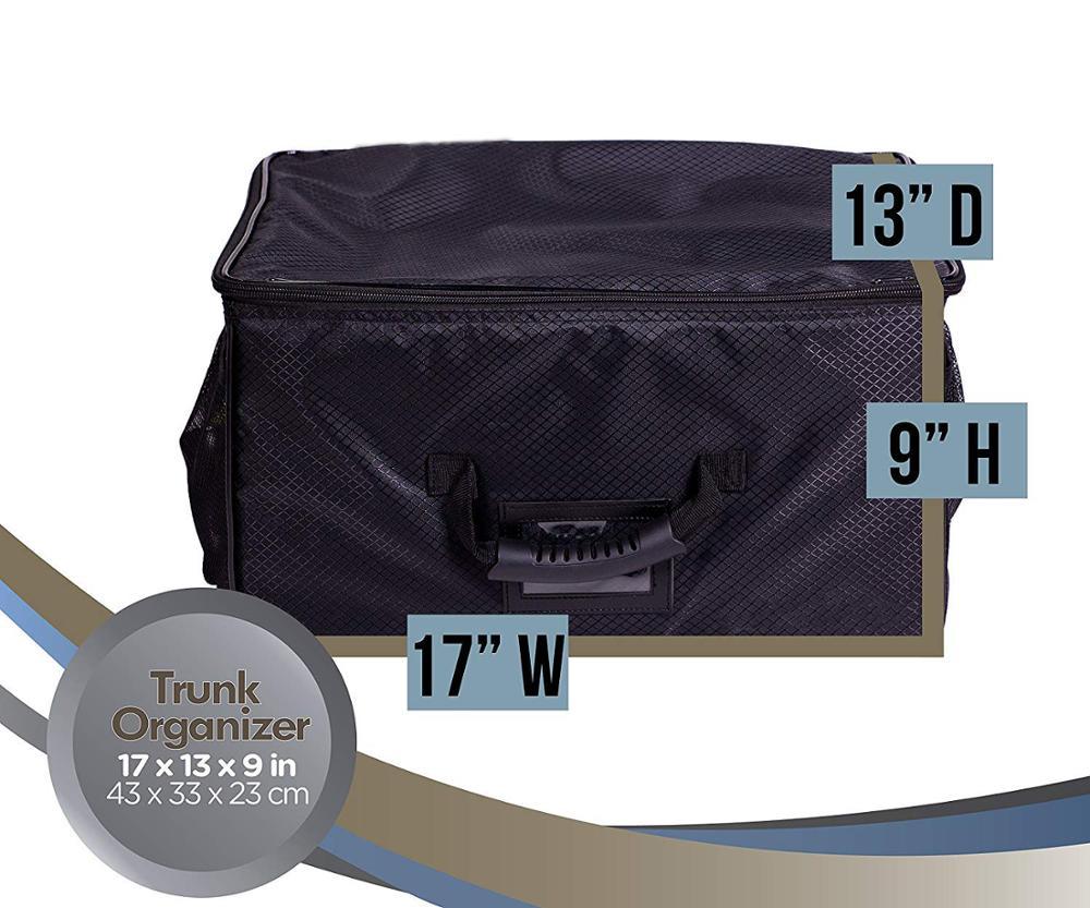2bde82c7ec4b Golf organizador del tronco de almacenamiento con cremallera zapatos de  bolsas coche de Golf armario para