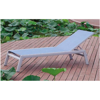Beach Sun Bed Aluminum Folded Lounge Chair For Pool Lounger