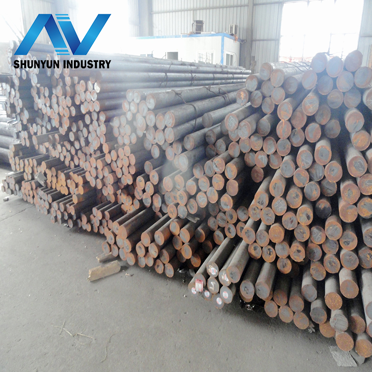 SAE1018 SAE1045 25mm hot rolled alloy steel round bar with high Quality