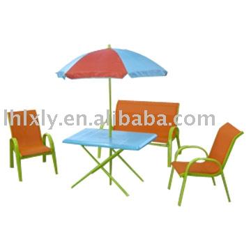m tal et en plastique enfants table et des chaises pour l. Black Bedroom Furniture Sets. Home Design Ideas