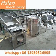 egg breaker with boiler/chicken egg processing machine/quail egg boiler peeler machine