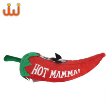 Custom plush peppers & chillies soft toys vegetable stuffed vegetables toys