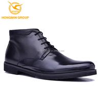 latest wholesale fashion men combat boot shoes cow skin men genuine leather boots