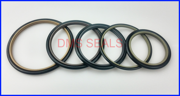 product-hydraulic cylinder bronze rod step oil PTFE sealwith rubber o ring-DMS Seal Manufacturer-img-1