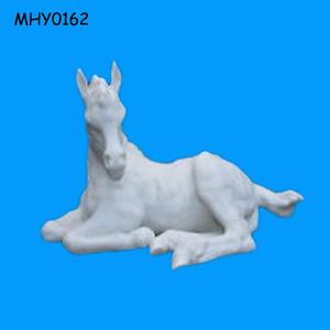 White horse special Unpainted Ceramic Bisque