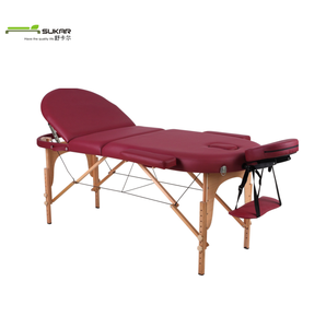 Wooden folding ceragem portable massage bed With High density foam and  factory price