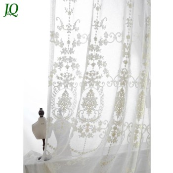 made grommet pattern fabric high striped quality patterned sheer embroidered curtain on curtains a to gold leaf pair of white order soft