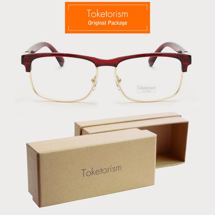 36692166fdf 2019 Wholesale Toketorism Latest Trend Cross Eye Glasses Frames For ...