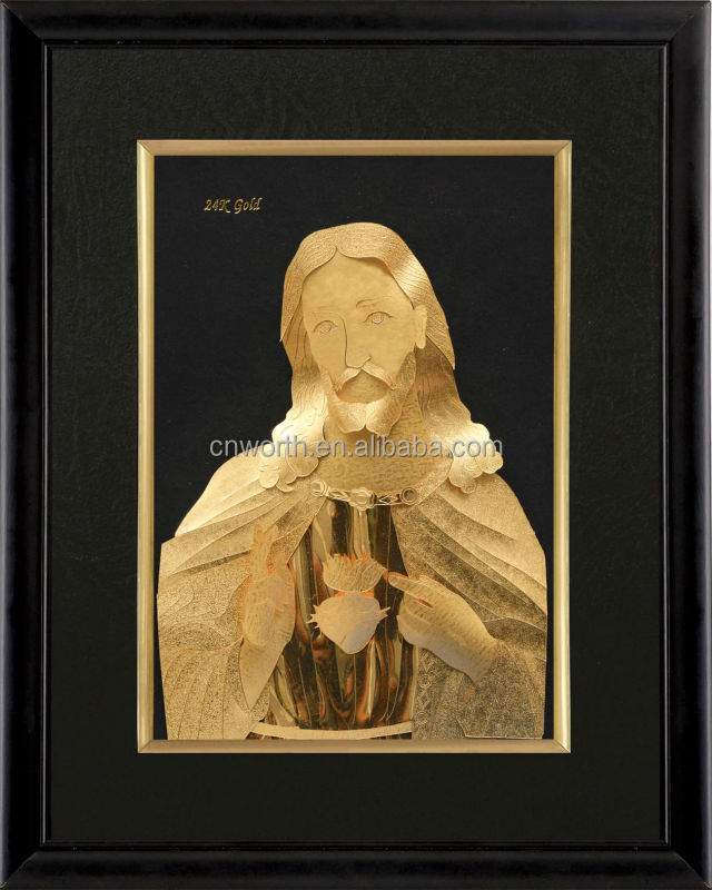 3d picture frames jesus christ indian religious gifts antique gold leaf frame wall mirror buy antique gold leaf frame wall mirror3d picture frames