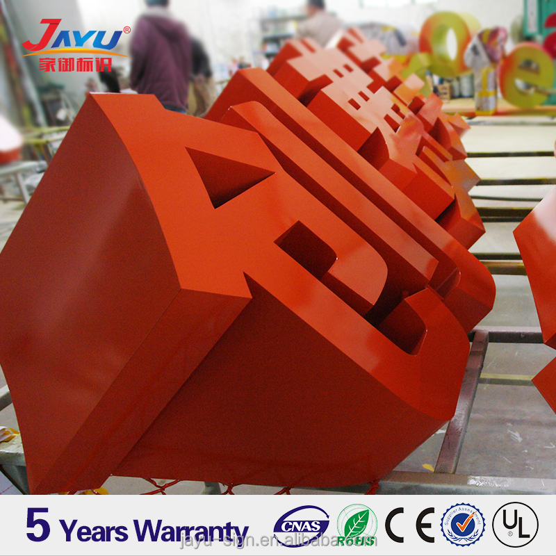 High Quality Large Alphabet metal Letters, outdoor large led letters