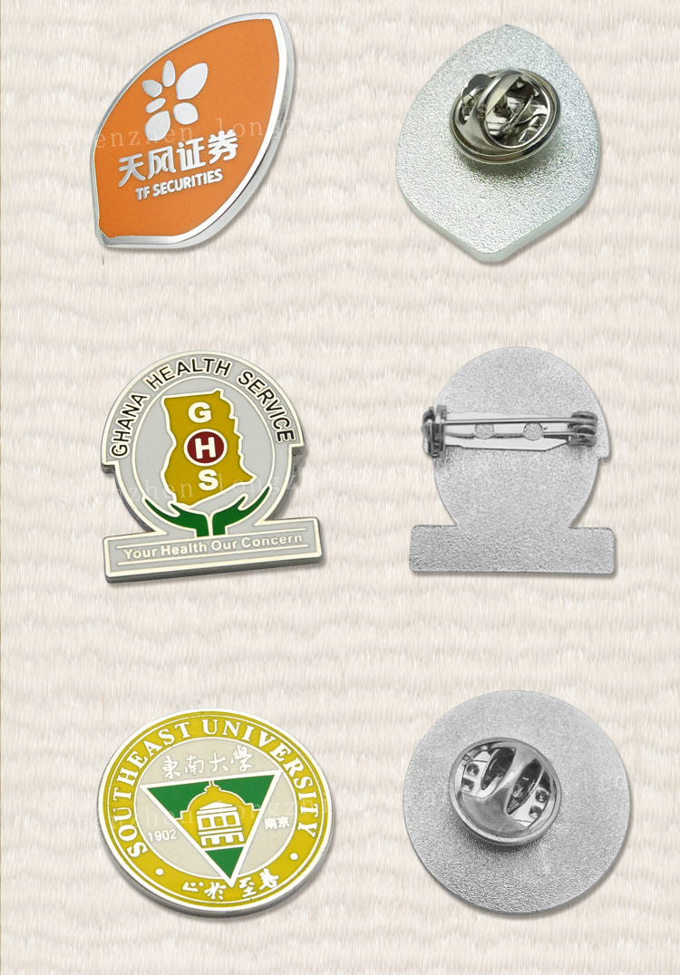 Best Seller Lions Club Lapel Pins Emblem Meaning In English Renault Symbol  History Plastic Magnetic Reusable Hard Name Badge - Buy Lions Club Lapel