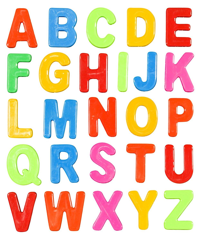 get quotations magnetic letters refrigerator magnets for kitchen fridge magnetic alphabet capital uppercase set for