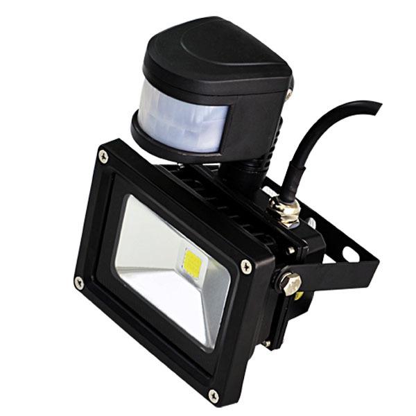 10w Solar Infrared Sensor Led Flood Light With Led Circuit Pir ...