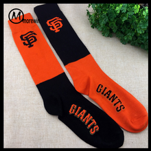 Morewin Brand wholesale football socks,mens soccer socks,senior colorful socks