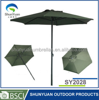 Decorative Garden Sun Patio Parasol Umbrella