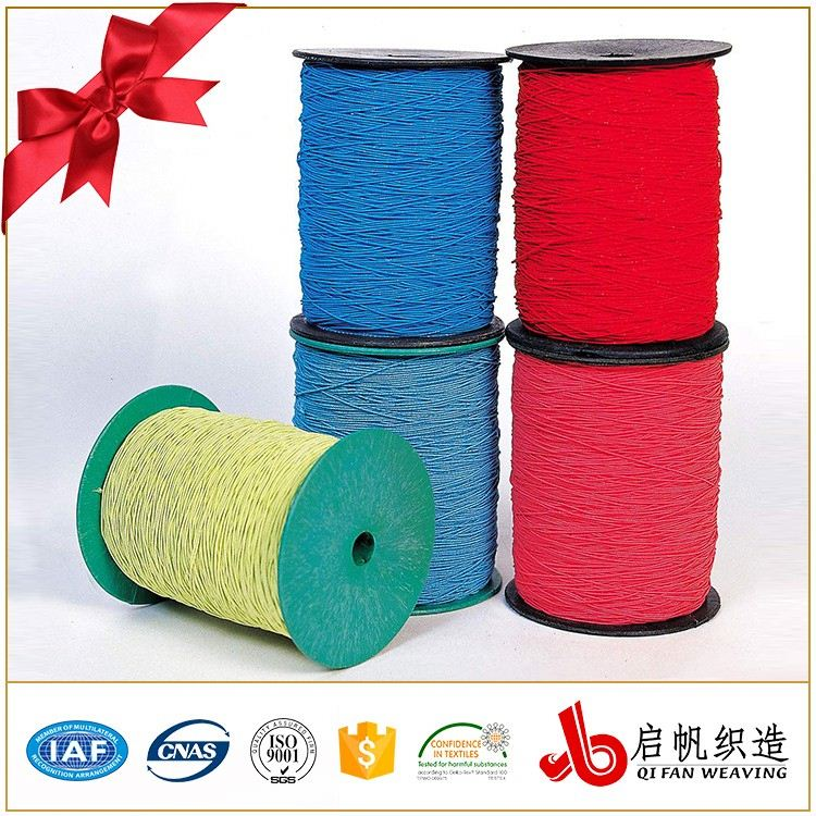 Design flat woven braided elastic webbing band for packing