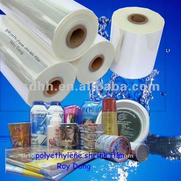 high transparent pof shrink wrap packing plastic material