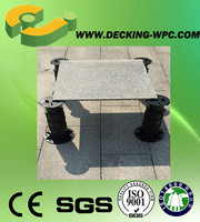 Poetical adjustable pedestal feet made of PP raw material