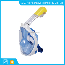 Hot sale factory supply snorkeling full face diving set easy breath snorkel training mask