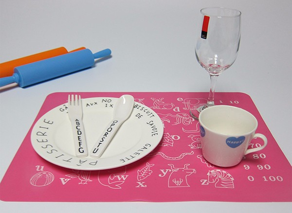 Heated Table Mat Design Your Own Silicone Placemat Dish