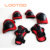 7pcs/set elbow knee pads helmet wristguard bicycle cycling skateboard roller safety protector kids skating protective gear