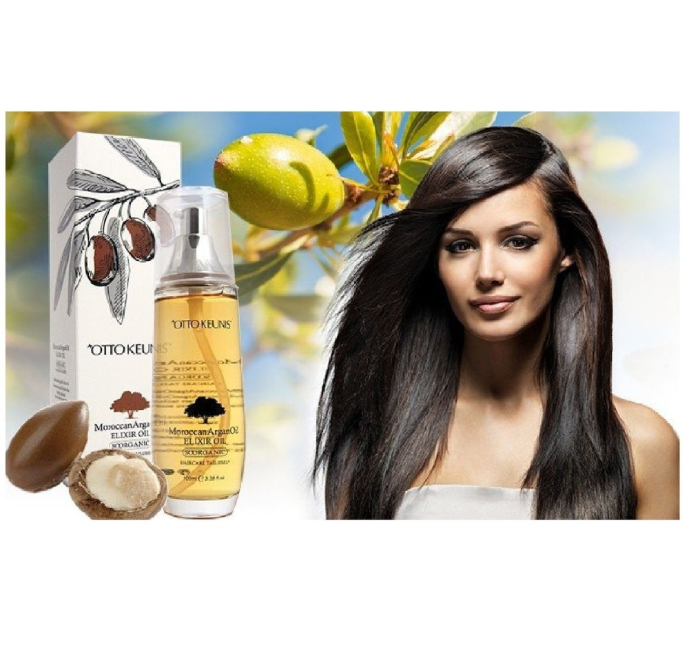 French pure natural argan oil 100ml morocco oil hair treatment for all hair types Hair & Scalp Treatment