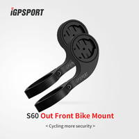 Sporty Style GPS Bicycle Computer Accessories Out Front Mount for Bike Handlebar