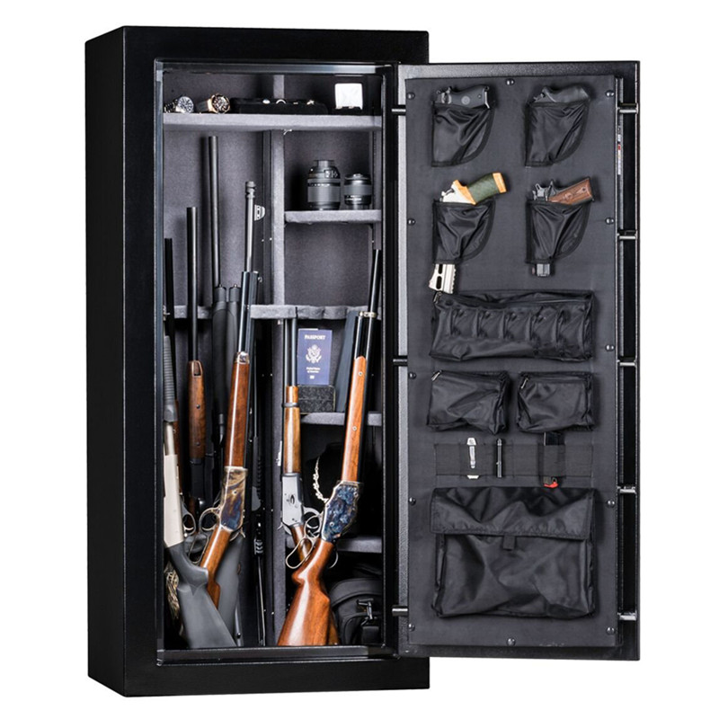 Gun Safe by metal with 30 minute fire protection, 30 Long Guns & 4 Handguns, Electronic Lock