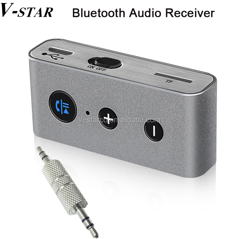 Home Car Wireless <strong>Bluetooth</strong> AUX Audio Receiver Adapter 3.5mm Jack <strong>Bluetooth</strong> HandsFree Car Kit Stereo MP3 Music Receiver