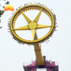 Luna park classic carnival frisbee rides thrill pendulum discovery frisbee rides for amusement park