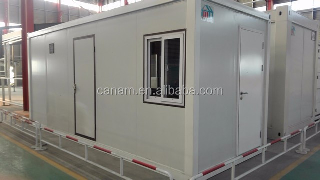 20ft new style prefab flat pack container house